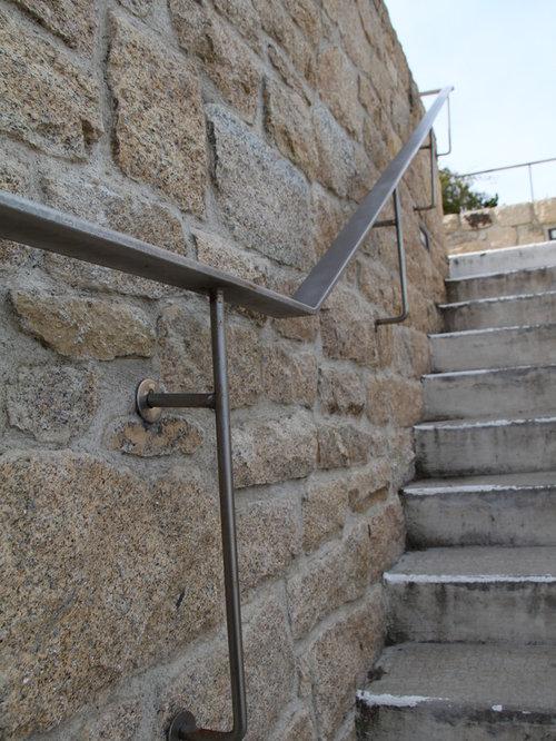 Escalier ext rieur en pierre granit d 39 elven for Escalier exterieur granit