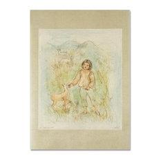 """The Forest Freind"" Art, Hibel, 1917-2014"