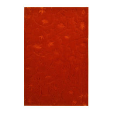 Mallorca Wool Floor Rug, Red, 300x200 cm