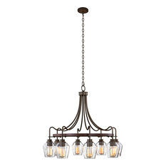 Allegheny Chandelier, Clear, Large