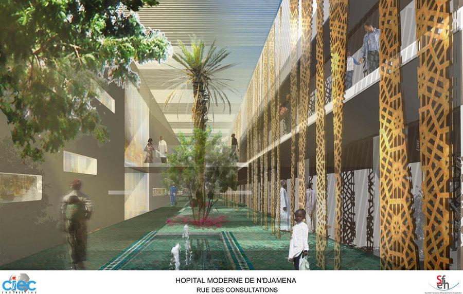 ciec-engineering - Hopital de Djamena - Tchad