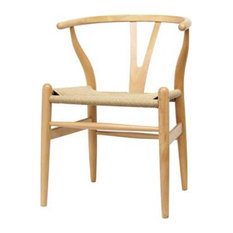 Ezmod Furniture Ez Mod W Chair Natural Dining Chairs