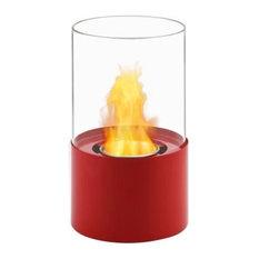 Circum Bio Ethanol Tabletop Fireplace in Red