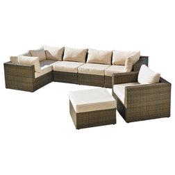 Great Tropical Outdoor Lounge Sets by Mission Hills Furniture