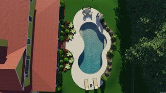 Organic swimming pool