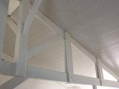 renover le plafond et les poutres pour eclaircir ma salle manger. Black Bedroom Furniture Sets. Home Design Ideas