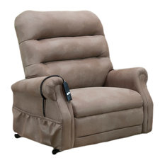 Med Lift 3 Way Reclining Lift Chair Stampede Mocha