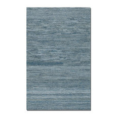 Genoa 8 X 10 Rescued Denim & Wool Rug (73013-8)