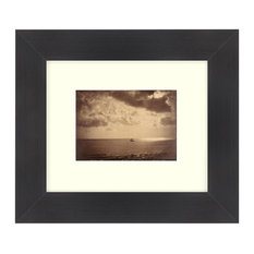 """The Brig"" Sepia Tone Framed Photo, 18""X24"""