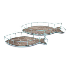 Codi Fish 2-Piece Tray Set