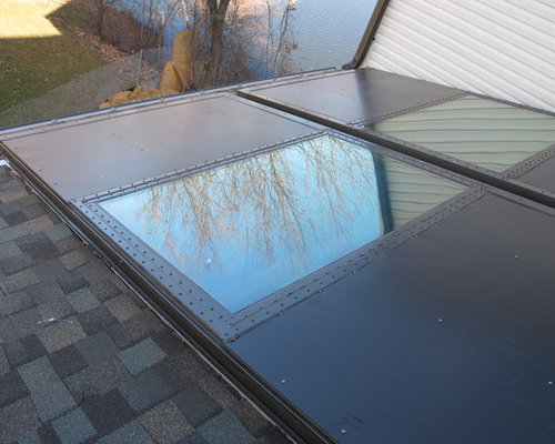 Aluminum Roof Hatch with Glass Insert - Skylights & Aluminum Operable Roof Hatch with Glass Insert memphite.com