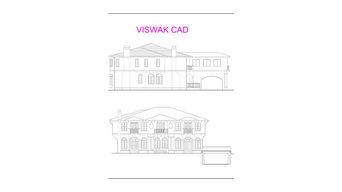 USA - Elevation Project Pdf to Auto CAD conversion
