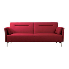 Charmant Divani Casa Maria   Divani Casa Davenport Modern Red Fabric Single Sofa    Sofas