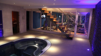 Bespoke Home Automation and Lighting with Pool in Worcester