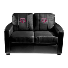Texas A&M Aggies Collegiate Silver Love Seat