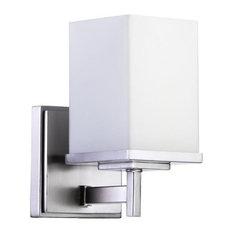 Quorum International 5484-1 Delta 1 Light Up Lighting Bathroom Vanity Fixture