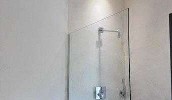 Béton ciré salle de bain/ douche