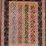 Alrug - Ziegler 3' 1″ x 4' 7″ - No. AV97887 - Very beautiful Shaal design from Pakistan. This item is shipped to the United States and Canada only. Please check our website for more items that qualify for free international shipping.This rug is New and in Perfect condition.ALRUG is renowned for its high quality, its extensive knowledge of hand-knotted carpets, and its excellent costumer relations.