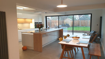 Lytham Open Plan Living Extension luxury Kitchen