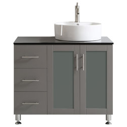 Ideal Contemporary Bathroom Vanities And Sink Consoles by Vinnova