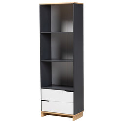 Contemporary Bookcases by Baxton Studio