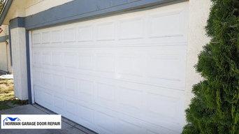 Garage door repair in Norman, OK