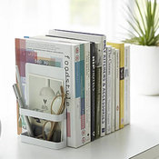 Bookends with Storage, Set of 2