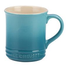 Le Creuset Caribbean Enameled Stoneware 14 Ounce Mug