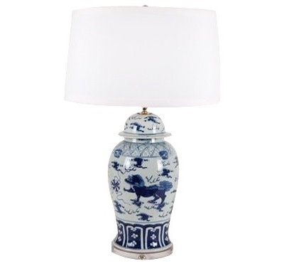 Asian Table Lamps by The Pink Pagoda