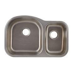 Undermount Stainless Steel Double Bowl Kitchen Sink