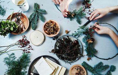 Les astuces déco d'une famille danoise pour un Noël vert