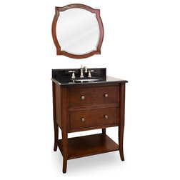 Simple Traditional Bathroom Vanities And Sink Consoles by Renaissance Kitchen and Home