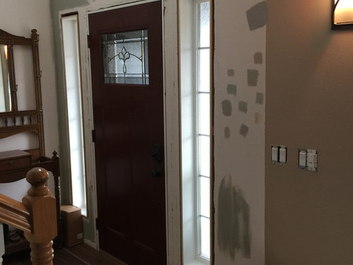 I Need Help With This Two Story Foyer Wall Color Ideas Please