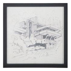 """Sterling Industries """"Falling Water"""", Original Art, 7011-565"""