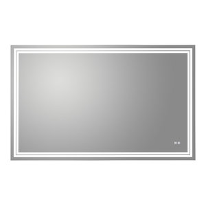 "Luxaar LED Mirror With Dimmer and Defogger, 48""x30"""