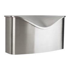Umbra Postino Mailbox, Stainless Steel