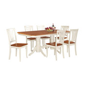 9 Piece Dining Set-Table With A Leaf And 8 Chairs For Dining