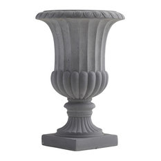 """16 5"""" Decorative Urn, Indoor and Outdoor"""