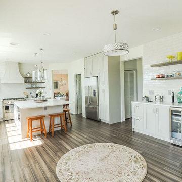 Spacious Luxury U-Shaped Kitchen