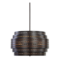 Uttermost Fuller 3-Light Drum Chandelier