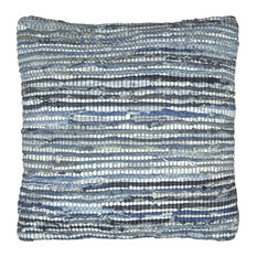 "St Croix Trading - PLCD1830 Pillow, Blue, 18""x18"" - Decorative Pillows"