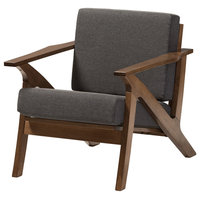 Cayla Midcentury Modern Lounge Chair