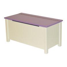 Emma Painted Toy Box, Purple
