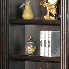 Parker House Grand Manor Palazzo Museum Bookcase Extension in Black
