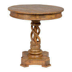 """Bella 30"""" Round Table by Kosas Home"""