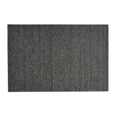 "Heathered Shag Mat, Gray, 18""x28"""