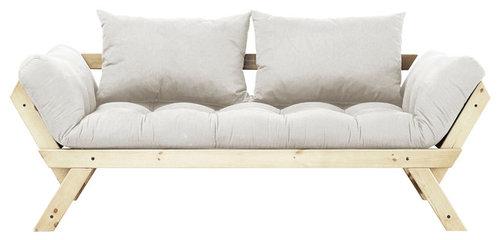 Fresh Futon Bebop Convertible Sofa Bed Natural Frame Mattress More Info