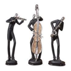 Uttermost Musical Trio Figurines, Set of 3