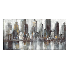 City Scape II Acrylic on Canvas
