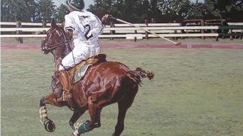 Polo Paintings on Canvas